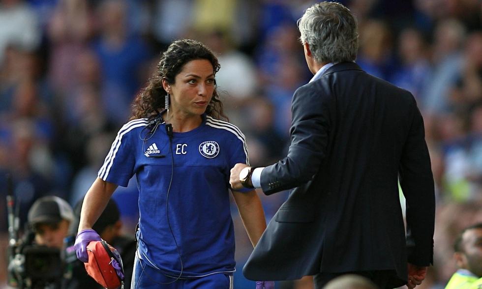 Eva Carneiro and José Mourinho