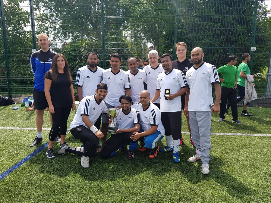 Seven Mills Become 5 Times Fathers Football Champs