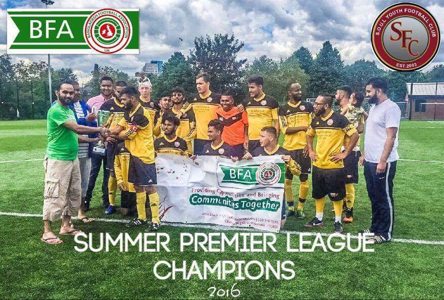 Undefeated Soul Youth FC Storm to theTitle